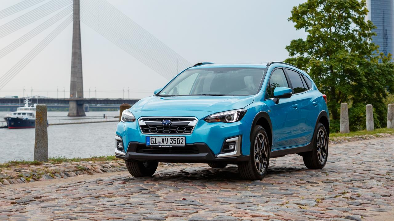 The Subaru XV Hybrid will land in Australia in March (overseas model shown).