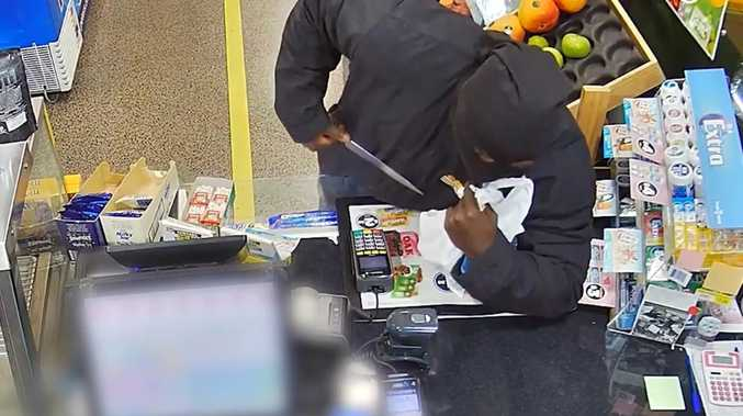 Toowoomba police searching for armed servo robber