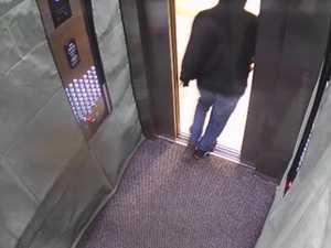 Terrifying CCTV of woman followed home