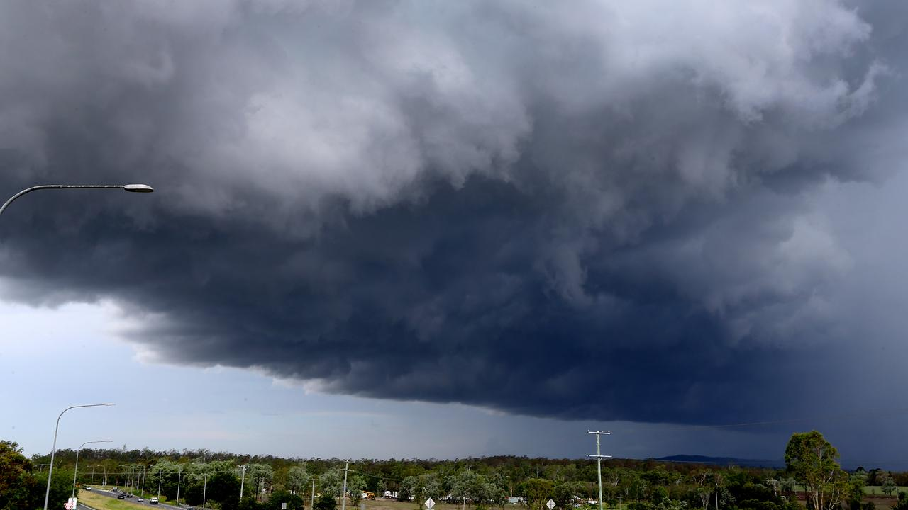 Multiple fast-moving storms, including two 'very dangerous' systems, have swept across southeast Queensland leaving more than 18,000 homes without power.