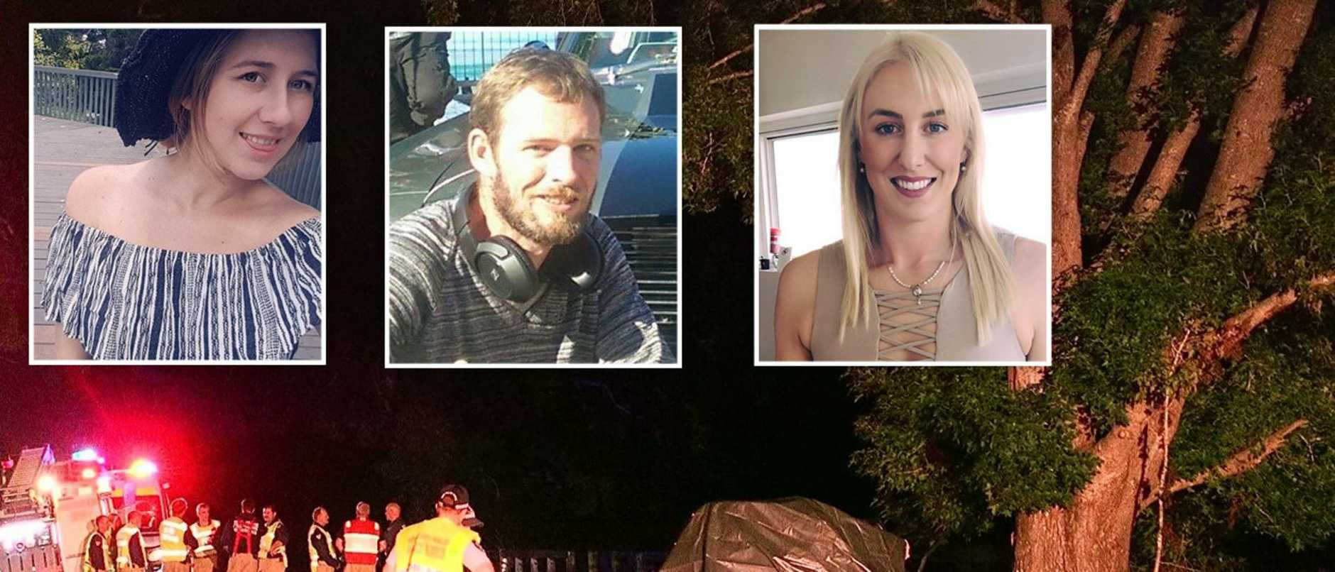 Bobbi Howell, Jessica Boardman, James Golding and three dogs were all killed in a horrific triple fatal crash in the state's north on Tuesday leaving Bellingen devastated.