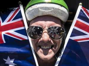 RIDING HIGH: Time to make the cut on Australia Day