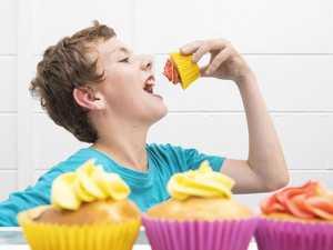 Aidan's cupcakes runneth over
