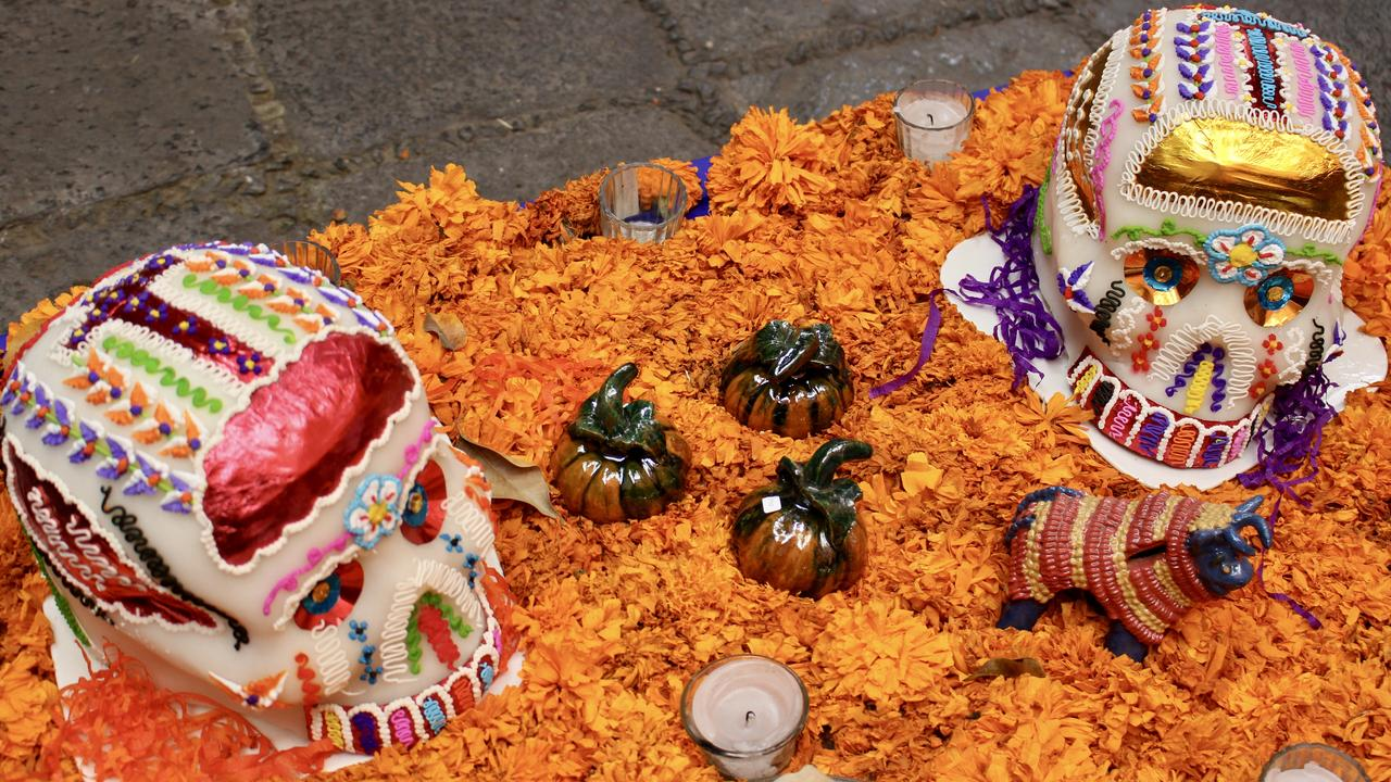 Dia de Muertos (Day of the Dead) in Mexico.