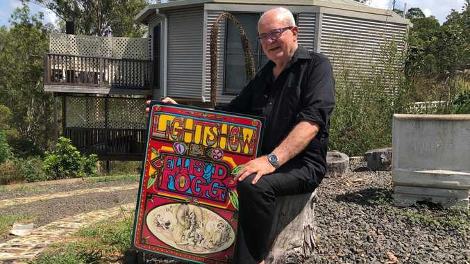 World-renowned 'psychedelic' artist still inspired