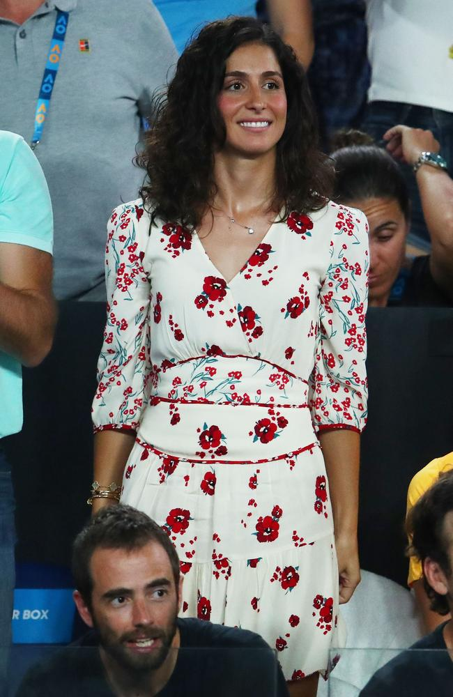 Pictured at the Australian Open last year. Picture: Getty Images