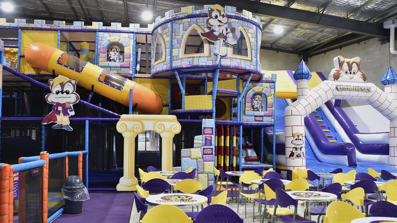 Chipmunks Playland and Cafe.