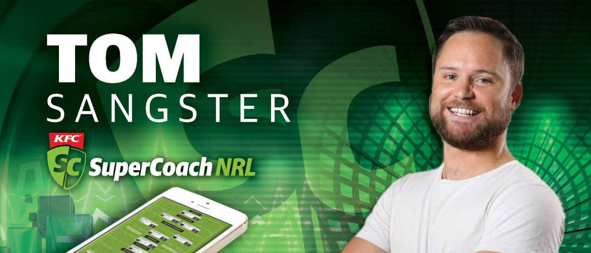 KFC SuperCoach NRL 2020: Tom Sangster's team revealed