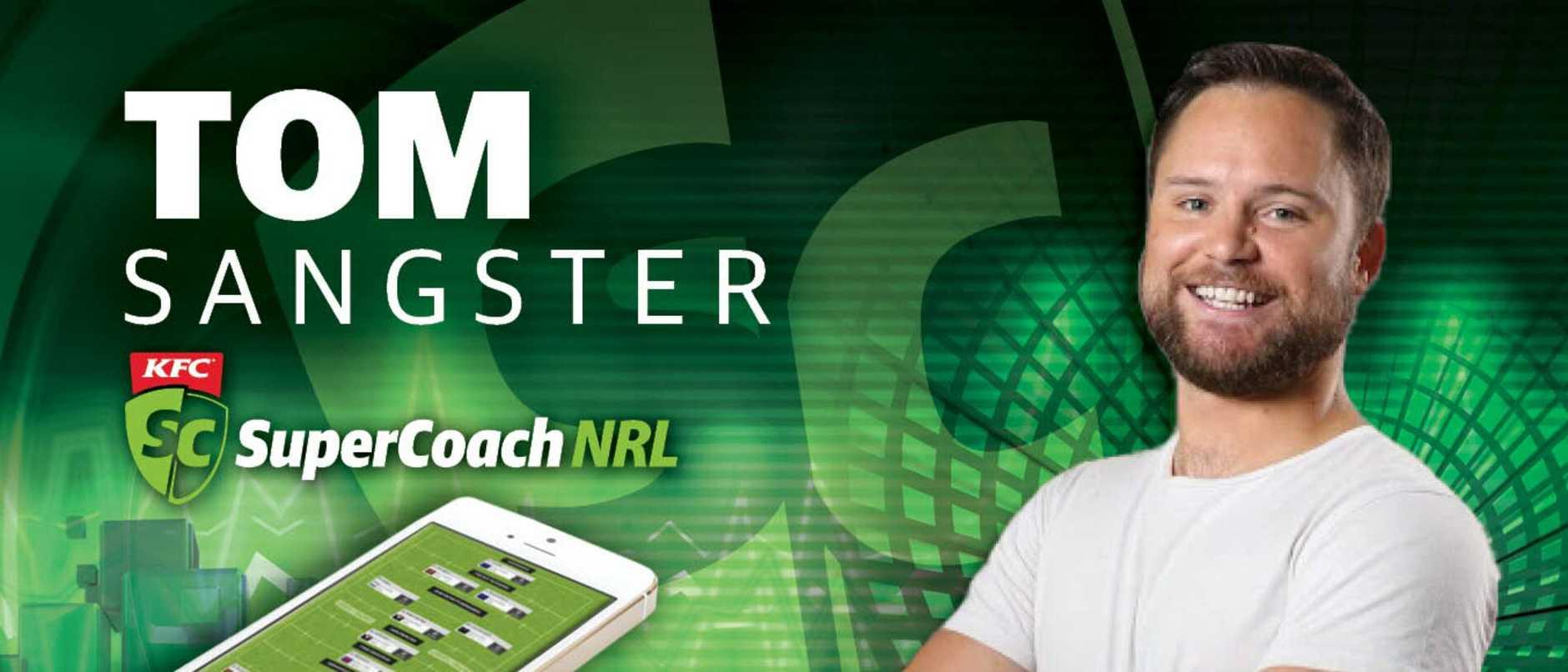 KFC SuperCoach NRL 2020: Tom Sangster's team revealed
