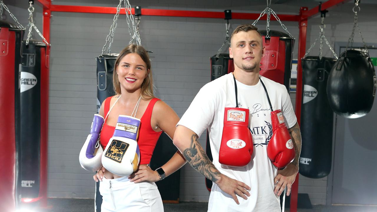 Olympic boxing hopefuls Jack Bowen and Taylah Robertson have forgone the chance to fight at the Tokyo Olympics to turn professional instead. 20th January 2020 Salisbury AAP Image/Richard Gosling
