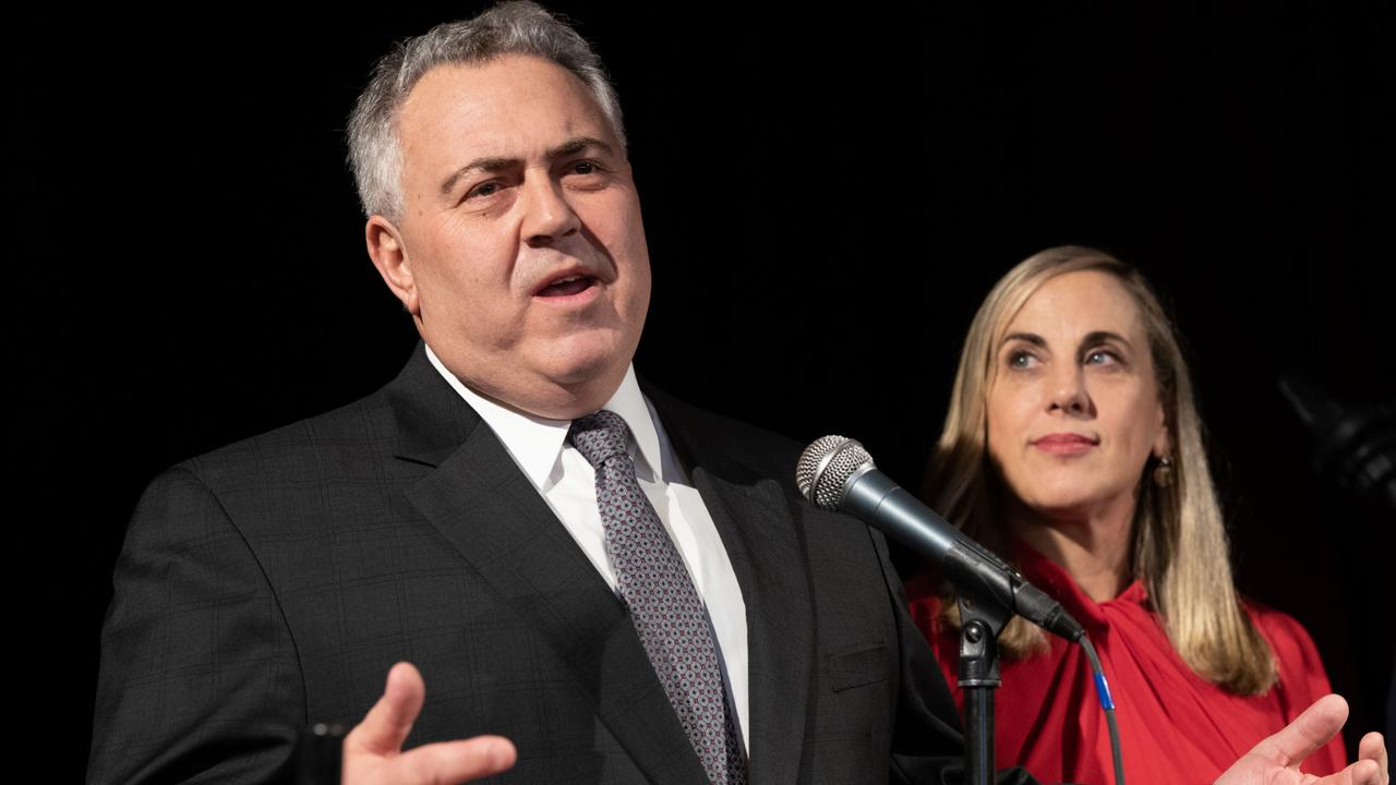 Joe Hockey and wife Melissa Babbage PHOTO: Nick Klein