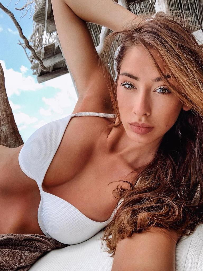 Brenda Patea, girlfriend of Alexander Zverev. Picture: @brendapatea/Instagram