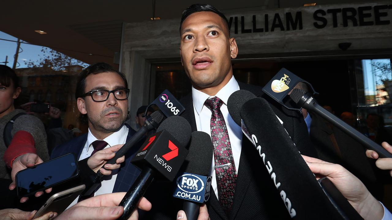 Would Folau be able to leave controversy behind? Photo: Mark Metcalfe/Getty Images