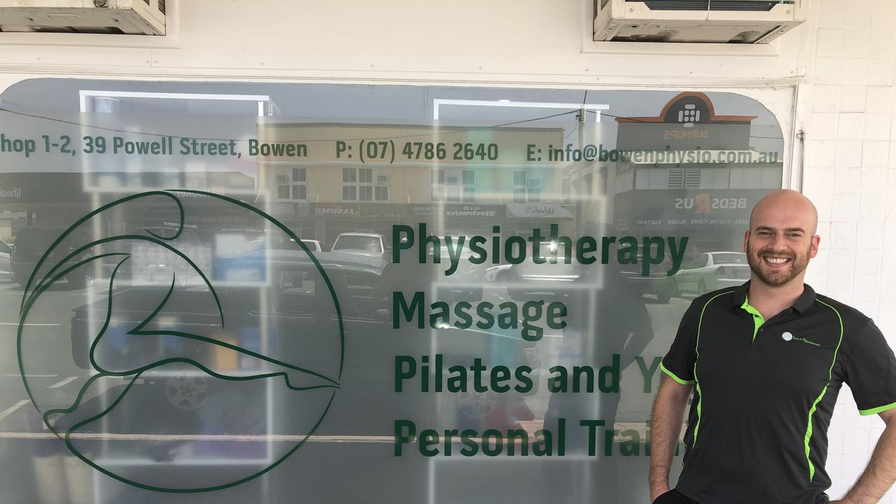 GET MOVING: Bowen Physiotherapy owner and operator Alex Pyke believes more allied health services in the region could help to alleviate stress on the local healthcare system.