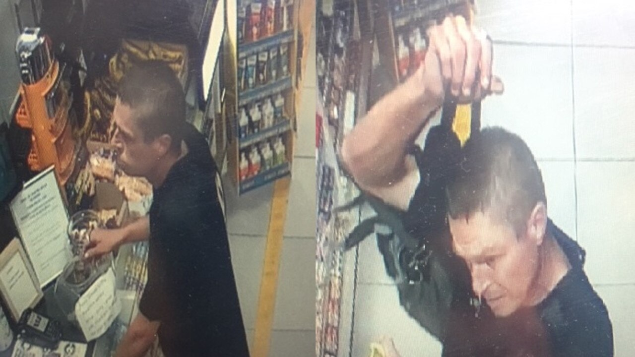 CHARITY TIN THEFT: DO you know this man? Byron Bay police think he may be able to assist them with their inquiries into the theft of a bushfire charity tin in Byron Bay on the weekend.