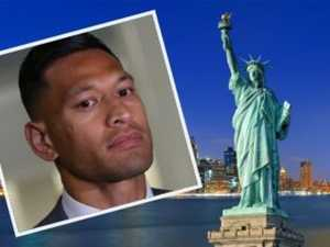 Folau targets escape to New York