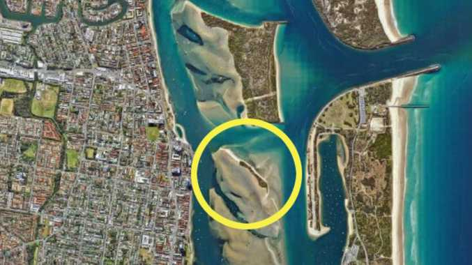 Gold Coast's newest island revealed