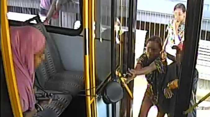 Youth gang's eight- minute reign of bus 'mayhem'