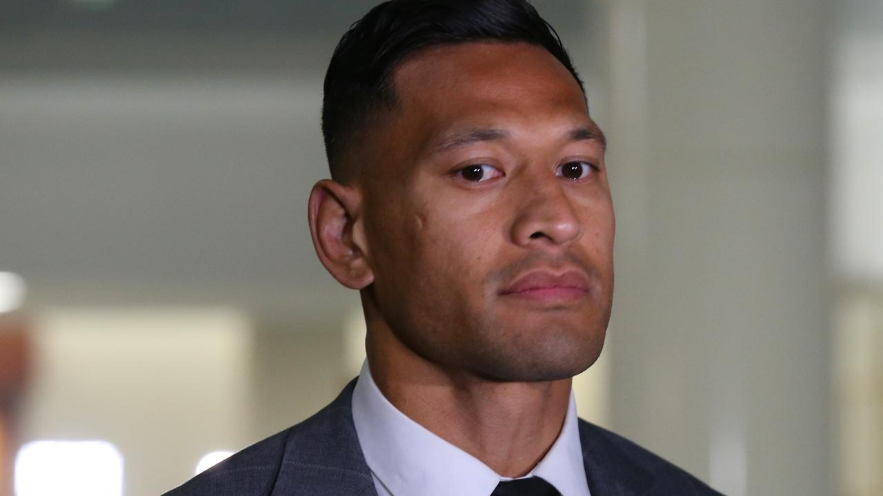 With no options in Australia, New York makes sense for Folau. Photo: AAP Image/David Crosling