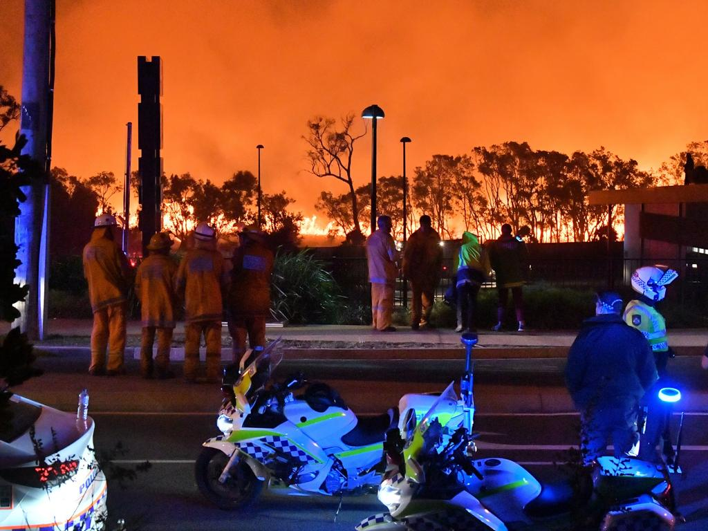 A monstrous and devastating fire ripped through Peregian Springs, Peregian Breeze and Peregian Beach heading north towards Marcus Beach and Noosa in September Picture: John McCutcheon/Sunshine Coast Daily
