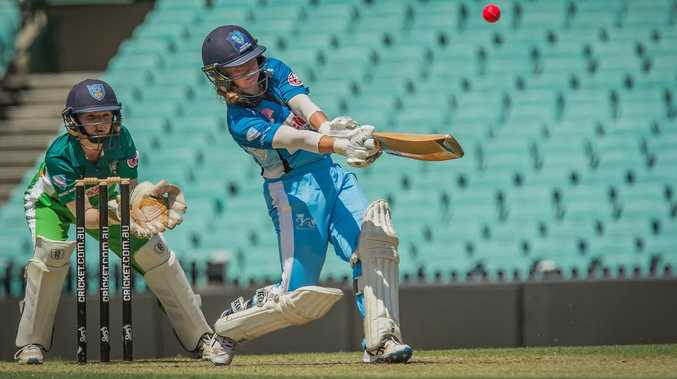 CLASSY KNOCK: McDonald lights up at the SCG