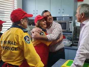 John Barilaro visits Ulmarra Fire Control Centre