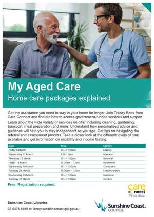 Home care packages explained