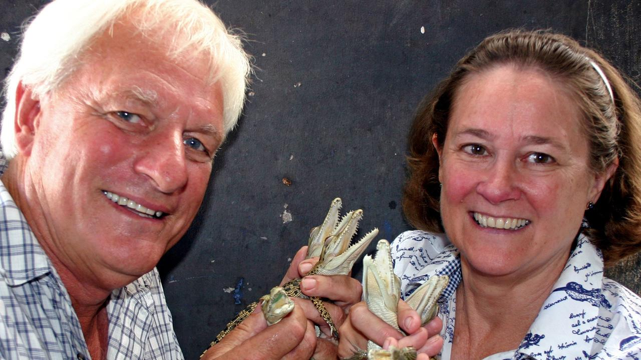 John and Lillian Lever run the Koorana Crocodile Farm.