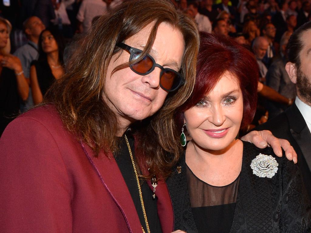 Ozzy Osbourne (L) and Sharon Osbourne. Picture: Getty