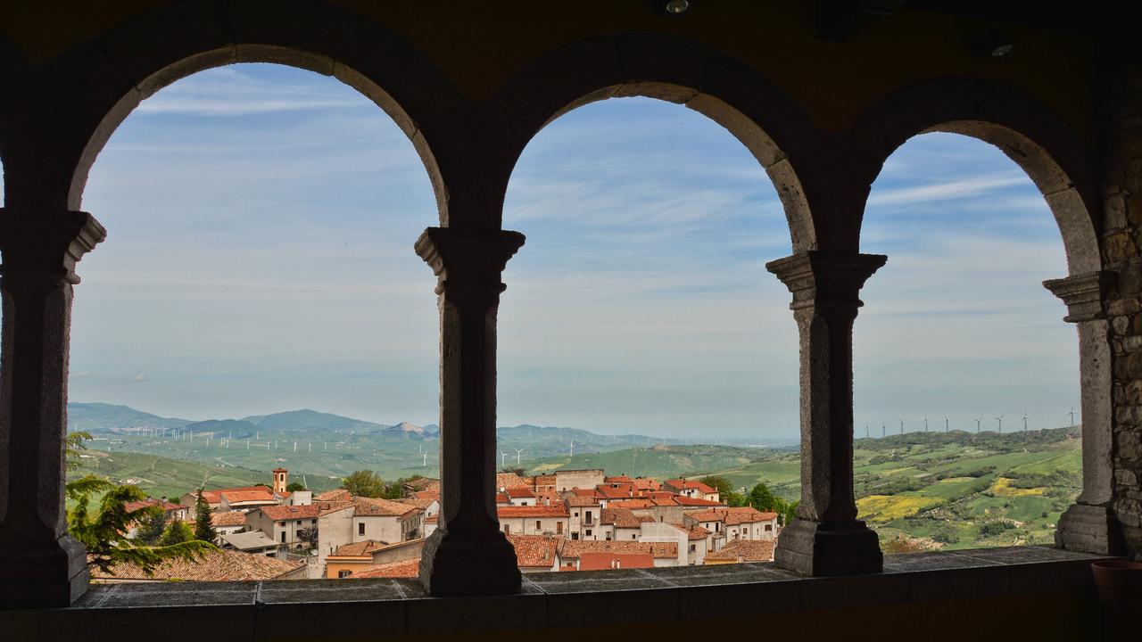 The town of Bisaccia is selling houses for less than a cup of coffee.