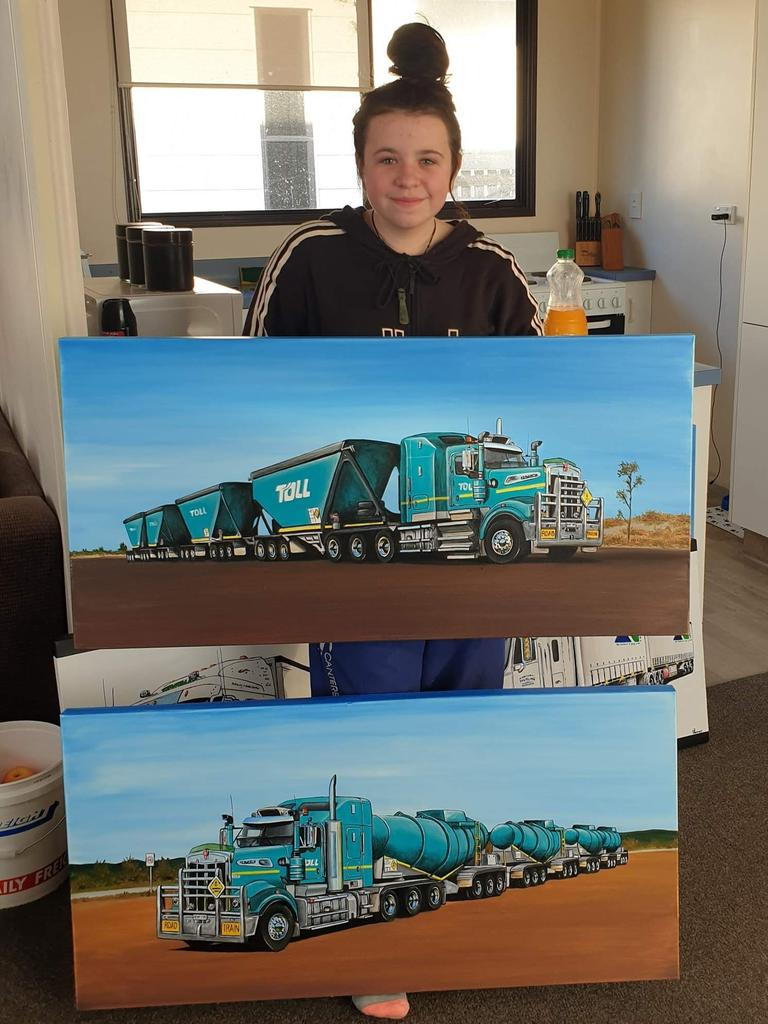 Auto Art by Rochelle Kenworth T909 Commissions: