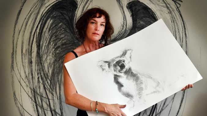 BUSHFIRES: Artist uses creativity to help out wildlife