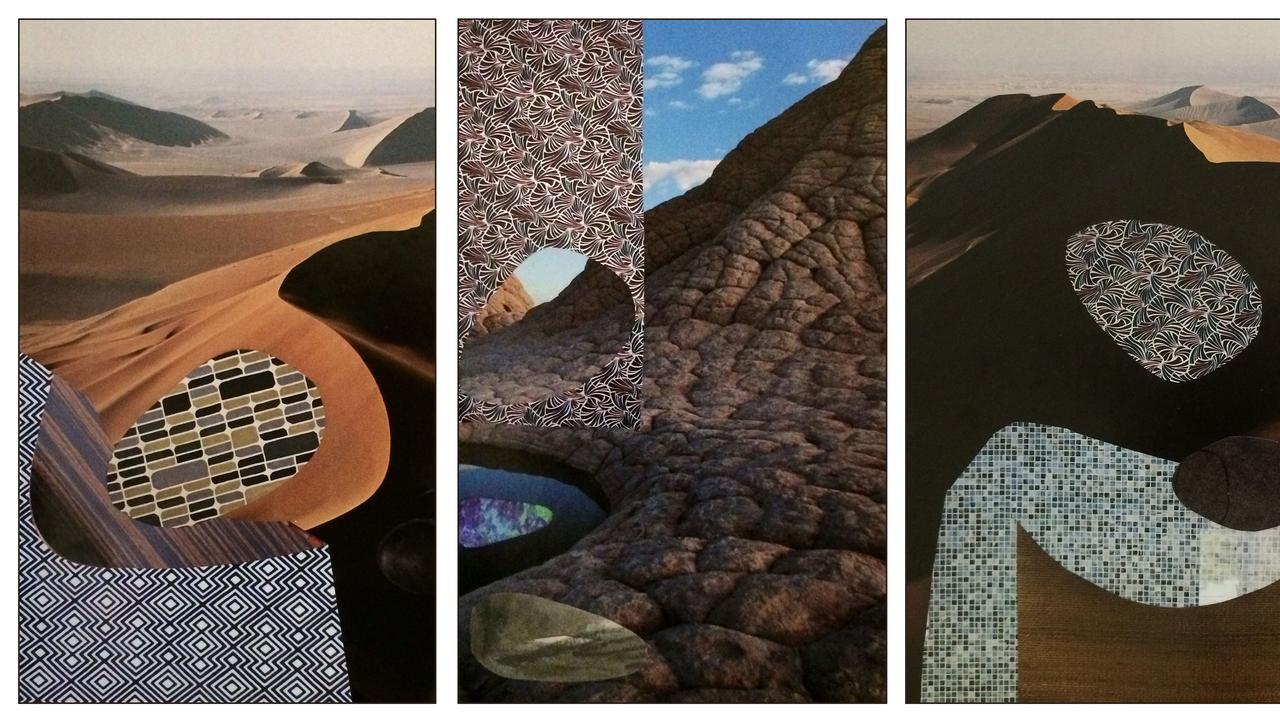 Landscape Study by Nora Hanasy