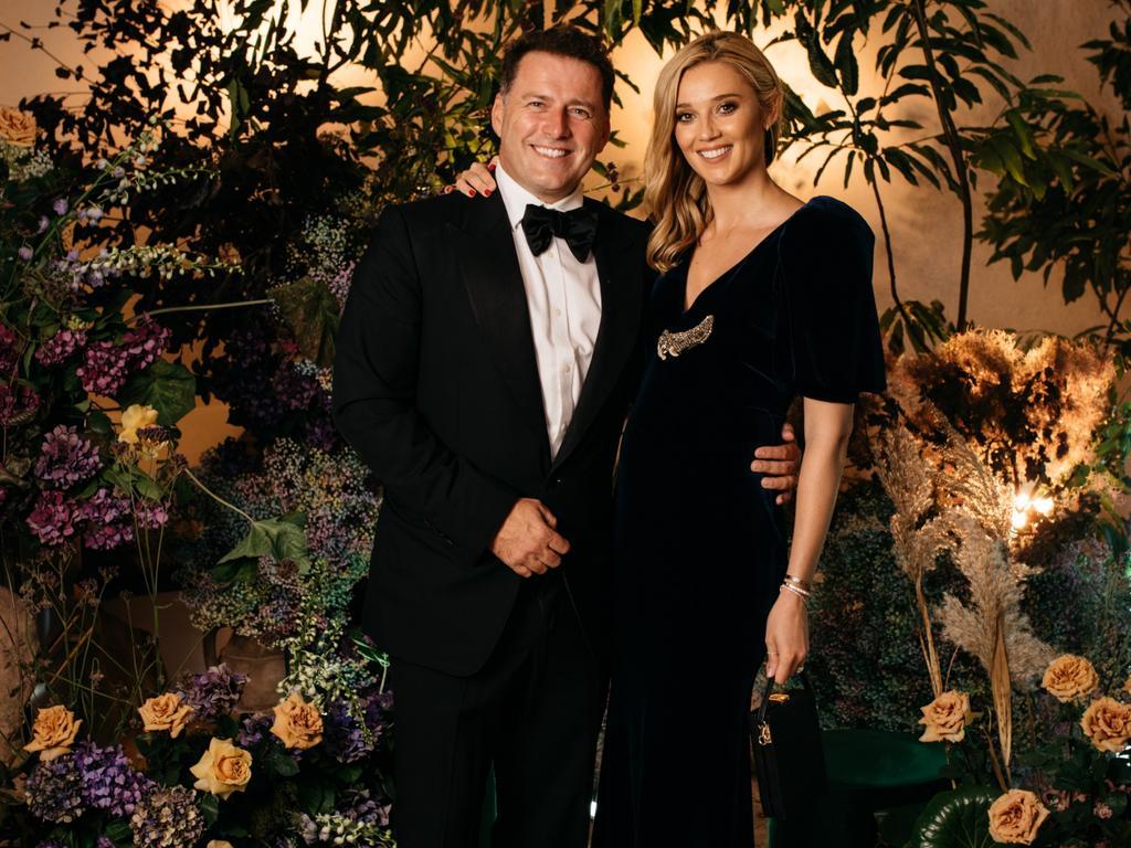 Karl and Jasmine Stefanovic in December 2019.