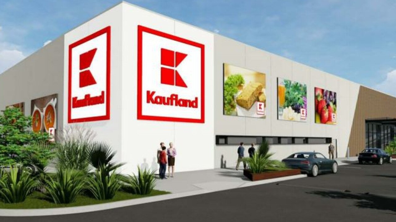 Artist's impression how the new Kaufland stores will look in Australia. Picture: Supplied