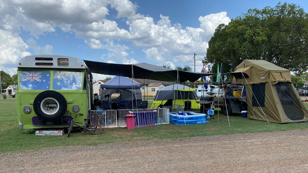 After seven years at the Kings Royal, it's safe to say the Paynter family knows how to set up an elite campsite. Picture: Belinda Paynter