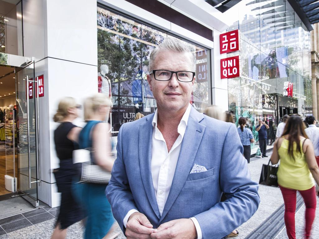 Queensland University of Technology' marketing professor Dr Gary Mortimer says the Wintergarden has a brilliant food court and should concentrate on making it even bigger and better. Picture: Supplied