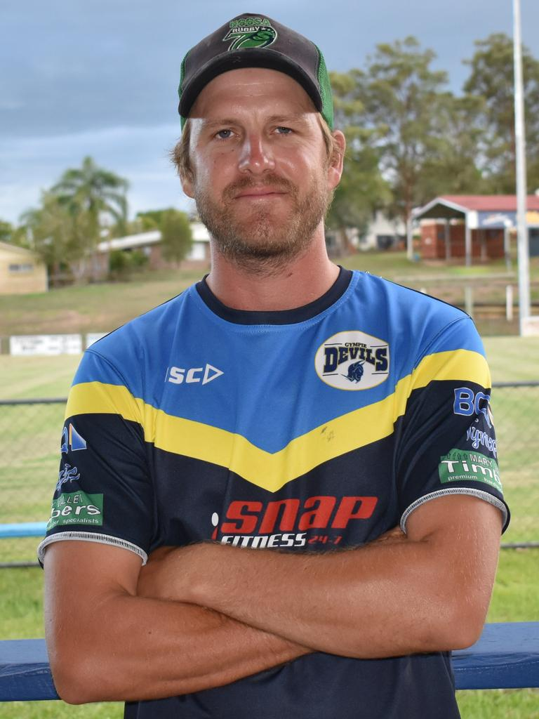 Gympie Rugby League - Devils women's coach Troy Carlson on board for another season. Photo: Bec Singh
