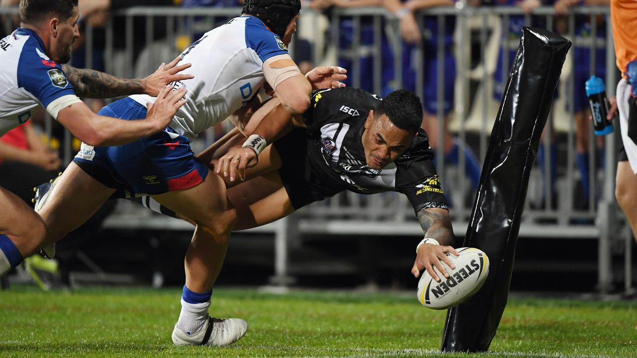 Ken Maumalo was a try scoring machine in 2019. (Photo by Kai Schwoerer/Getty Images).