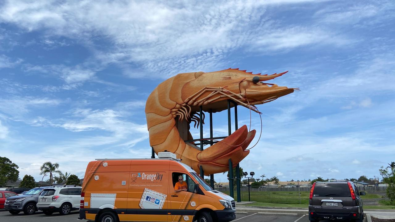 HOMLESS SUPPORT: Orange Sky will next month launch its free shower and laundry van on the Northern Rivers.