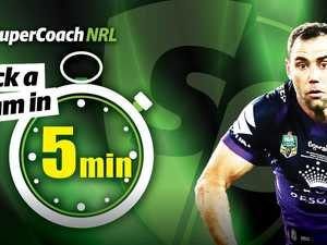 SuperCoach NRL: Pick a gun team in just 5 minutes