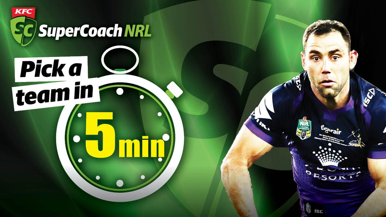 How to pick an awesome KFC SuperCoach team in 5 minutes