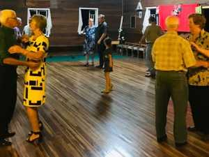 Historic hall hosts old time dance