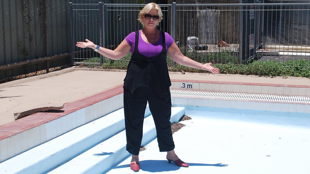 Former water aerobics instructor Toni Jeavons is no stranger when it comes to pool fights. In the past, she called on the Maranoa Regional Council to fix the Roma wading pool which resulted in a $400,000 upgrade. Now she's hoping the Gympie Regional Council will take her Goomeri proposal seriously as well. Photo: File