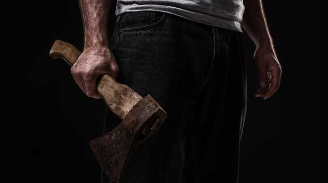 Man chased by axe-wielding housemate over tobacco dispute
