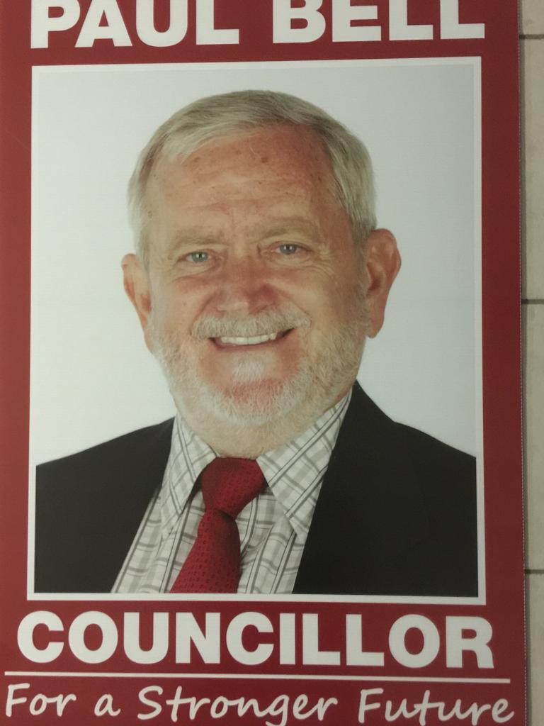 Councillor Paul Bell.