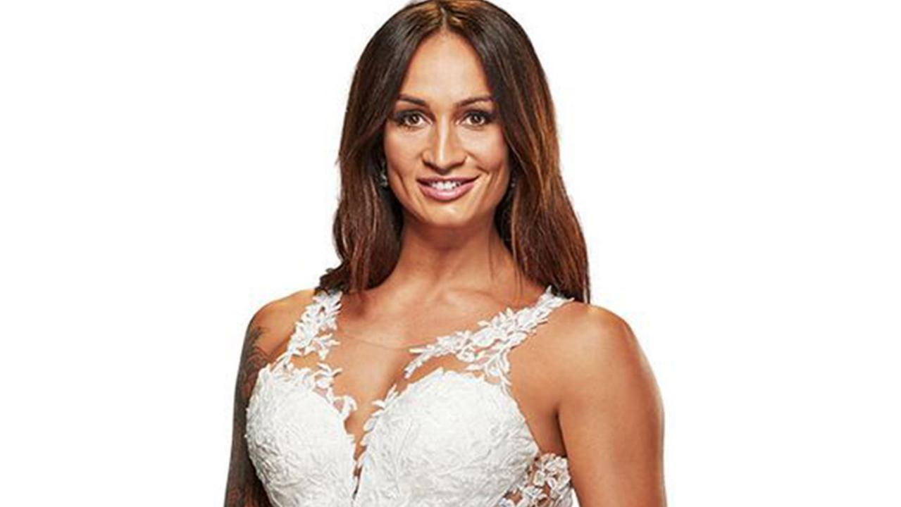 Hayley Vernon MAFS Married At First Sight 2020. Picture: Channel 9