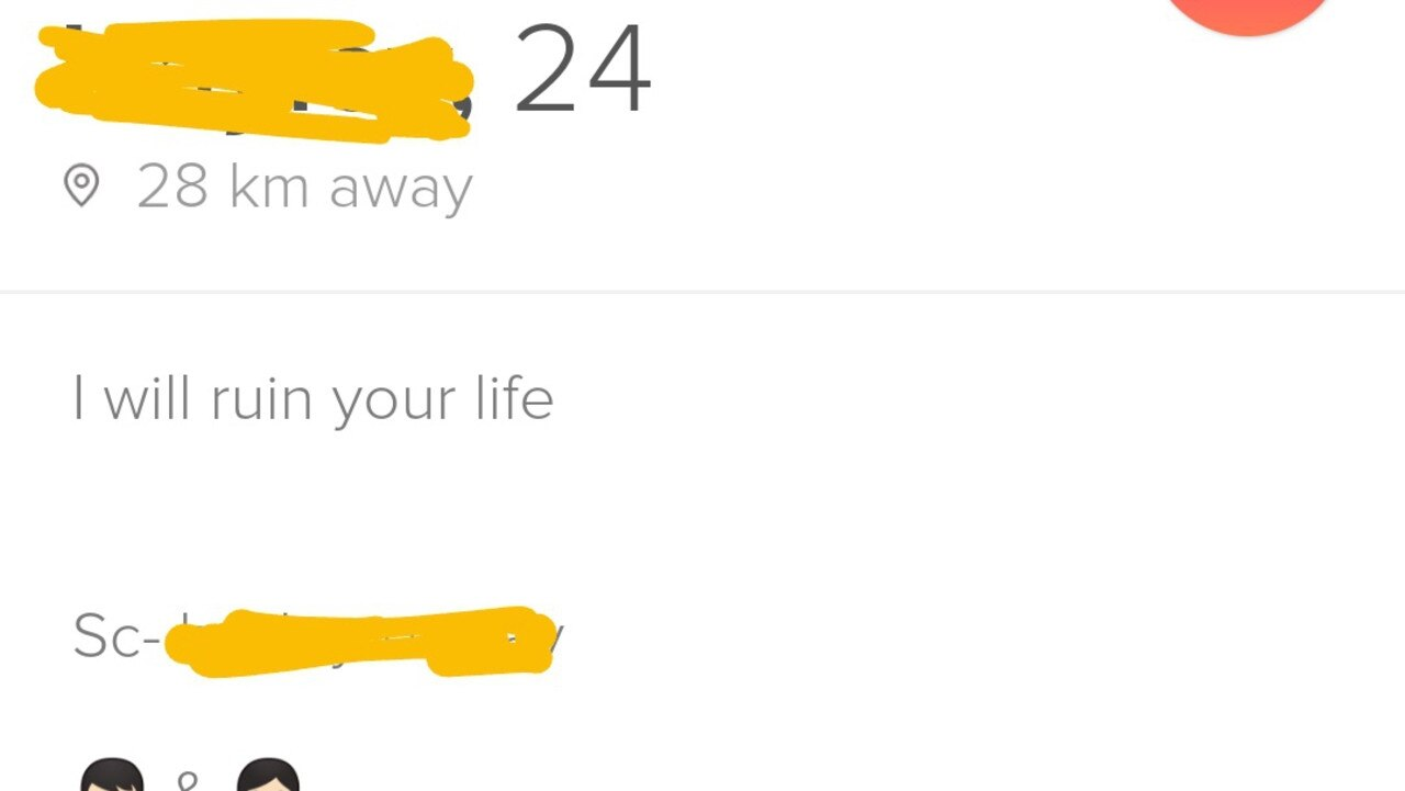 Just another Tinder profile.