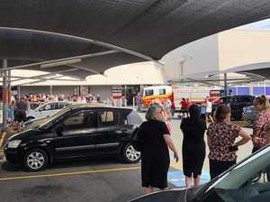 Major shopping centre evacuated as alarm blasts