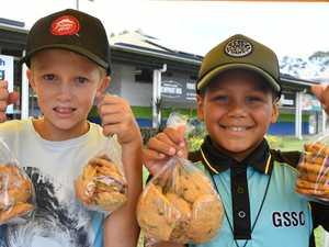 Bushfire bickie boys making a 'big difference'